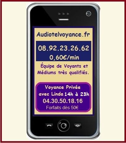 Voyance Audiotel en France et Dom-Tom 7/7