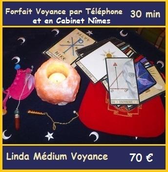 Forfait Voyance 30min avec Linda Médium