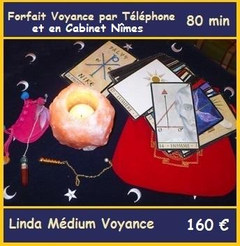 Forfait Voyance 80min avec Linda Médium